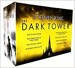 Stephen King Dark Tower Collection 8 Books Box Set Pack