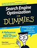 Search Engine Optimization for Dummies, Peter Kent, 0471979988
