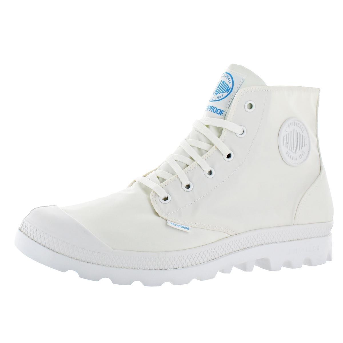 Palladium Pampa Puddle Lite Men's Nylon Lace-up Waterproof Boots White Size 9.5