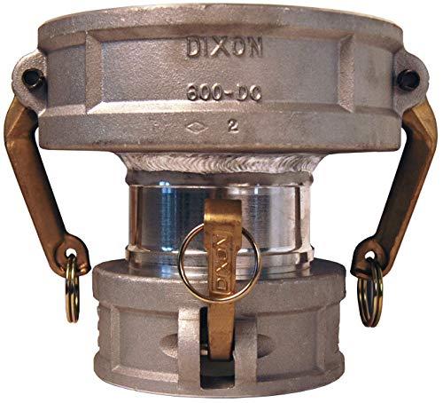 4 Inch Female Coupler - Dixon 400-DD-AL Aluminum Cam and Groove Hose Fitting, Spool Coupler, 4