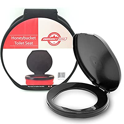 Emergency Zone Brand Honey Bucket Emergency Toilet Seat, Available in Single and Multi-Packs