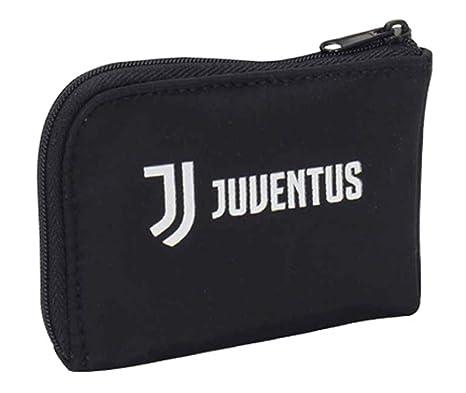 design senza tempo 3779b 2cf81 Portamonete e chiavi, Juventus Ring Coin Case, Nero, con anello portachiavi