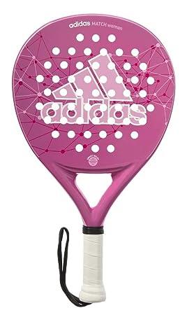 adidas Match Wo - Pala pádel para Mujer, Color Rosa/Blanco, Talla única: Amazon.es: Deportes y aire libre