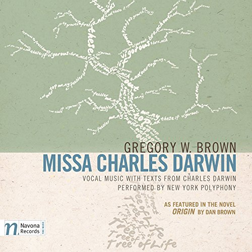 Price comparison product image Gregory W. Brown: MISSA CHARLES DARWIN (As Featured in the Novel ORIGIN by Dan Brown)