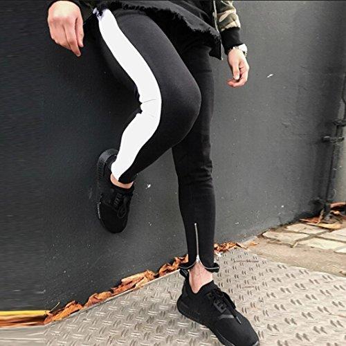 28934b6d64380 Chic LuckyGirls Pantalones Hombre Chandal Originales Color de Hechizo Ropa  Deportiva Suelto Gimnasio Jogger Running Casuales