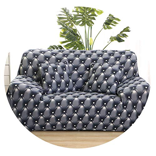 - Stretch Sofa Cover All-Inclusive Sectional Couch Corner Cover for Living Room Furniture L Shape Love Seat Single/2/3/4-seater,Color 10,2-Seater 145-185cm