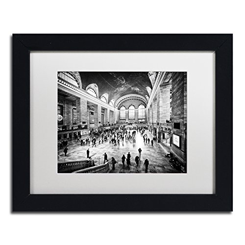 Grand Central Terminal Nyc - Grand Central Terminal NYC by Philippe Hugonnard, White Matte, Black Frame 11x14-Inch