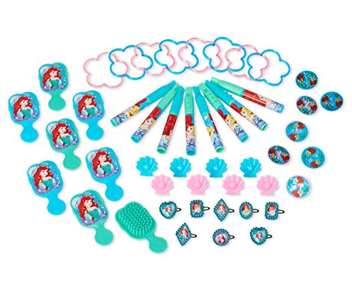American Greetings Disney Ariel Favor Pack, -