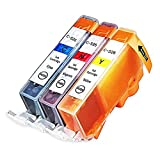 INKUTEN (TM) Compatible Ink Cartridge Replacement for Canon CLI-226 (1 Cyan, 1 Magenta, 1 Yellow) - 3 Pack
