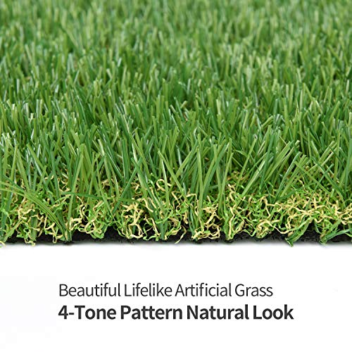 RoundLove Artificial Turf Lawn Fake Grass Indoor Outdoor Landscape Pet Dog Area (40X80 in) by RoundLove (Image #4)