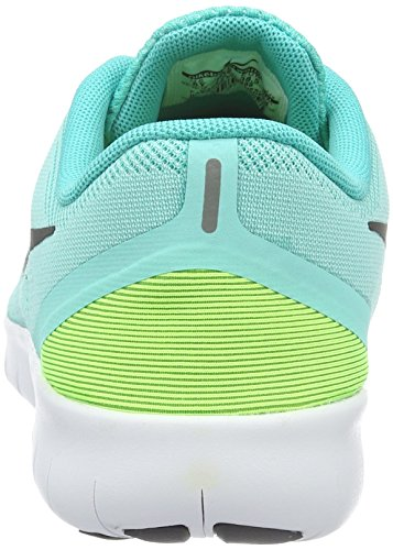 Nike Nike (Nikmm) Free Rn (Gs) - Zapatillas de deporte Unisex Niños Türkis (Türkis/Schwarz/Gelb)