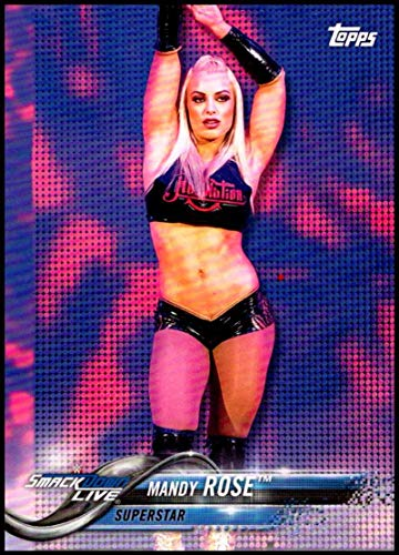 2018 Topps WWE Then Now Forever #149 Mandy Rose Wrestling Trading Card