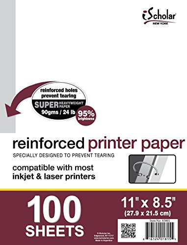 iScholar Reinforced Heavy Duty Printer and Copy Paper (83001)