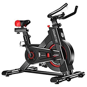 Exercise Bike Spin Flywheel Training Fitness Equipment Home Gym Cardio - Black