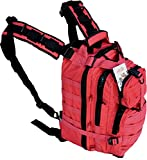 Explorer Military Tactical Backpack Army Assault Pack Molle Medic Bug Out Hydration Assault Rucksack Outdoor Sport Travel Trekking Hiking Camping Hunting School Day pack (Red Color Backpack) Review