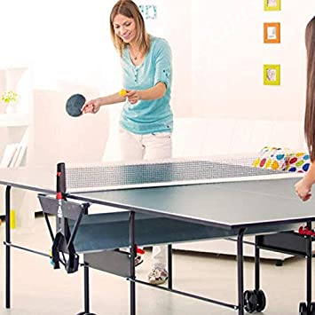 TRDF Table Tennis Net Rack Portable Retractable Table Tennis Net Rack Ping Pong Table,Office Desk,Dining Table,Kitchen Table