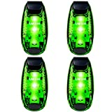 UMISHI 3 Modes LED Safety Lights 4 Packs Clip on Strobe Running Cycling Dog Collar Bike Tail Warning Light High Visibility Accessories for Reflective Gear Review