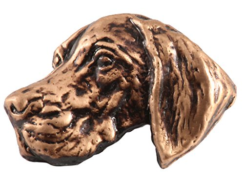 Creative Pewter Designs Vizsla Dog Copper Plated Lapel Pin, Brooch, Jewelry, DC174 ()