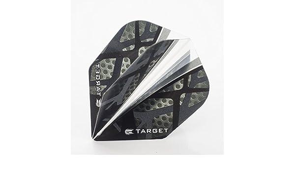 TARGET VISION ULTRA BLACK FIN STANDARD SHAPE FLIGHTS