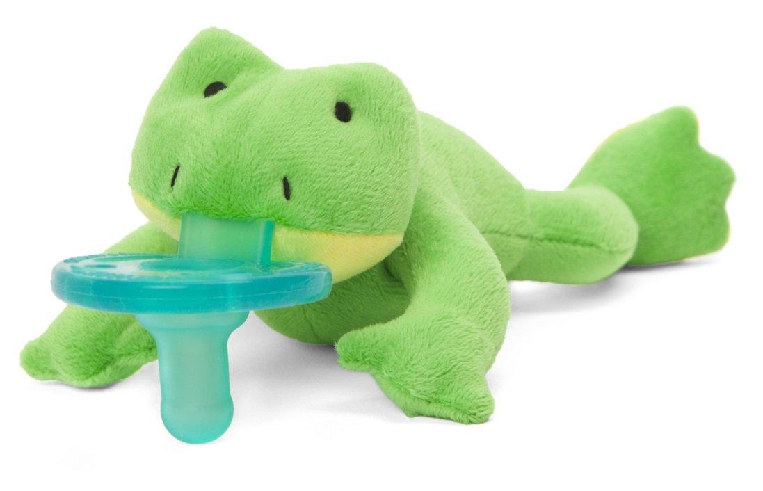 Wubbanubb Pacifier, Green Frog W31635