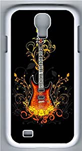 Samsung Galaxy S4 I9500 Cases & Covers - 3D Guitar PC Custom Soft Case Cover Protector for Samsung Galaxy S4 I9500 - White