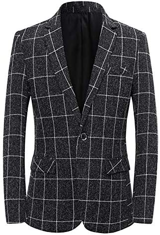 [YFFUSHI]テーラードジャケット メンズ ビジネス 長袖 春秋 一つボタン