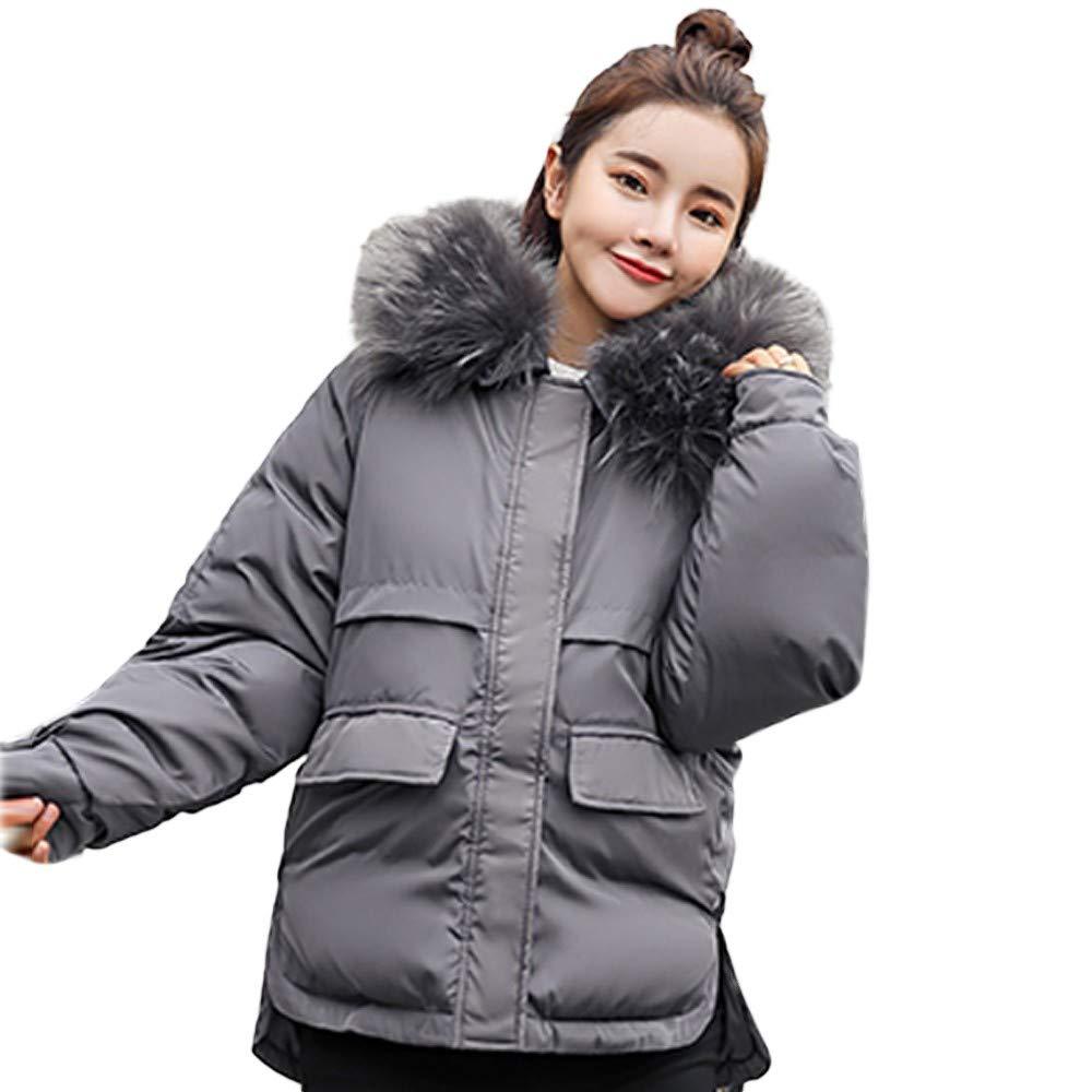 Fantaisiez Manteaux Femme Fourrure épais à Capuche Manche Longue Veste Automne Hiver Chaud Manteau Femmes Jacket Ourwear Grande Taille