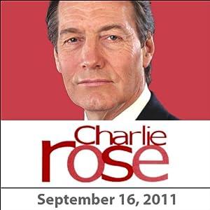 Charlie Rose: Lisa Randall and Simon Schama, September 16, 2011 Radio/TV Program