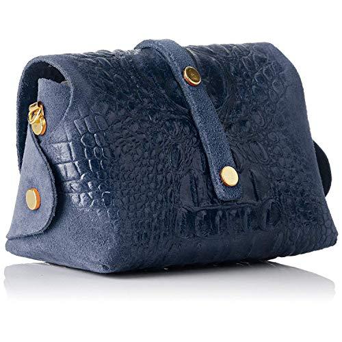 De Made Tripack In Italy Azul Piel Bolsos Borse Chicca fxzBOW