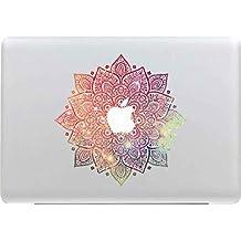 Sticker For MacBook, Stillshine Unique Elegant Design Vinyl Decal Skin Sticker For MacBook Pro / Air 13 Inch Portable Computer Apple Laptop (Mandala SH-3456-28)