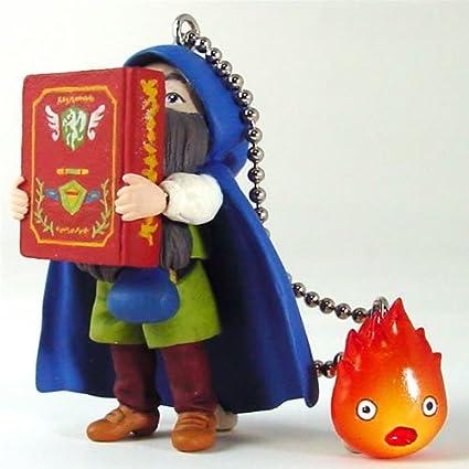 Amazon.com: Howl s Moving Castle markl Ver 2 Llavero de PVC ...