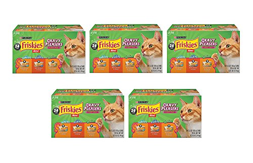 Purina Friskies Gravy yYXnF Cravers Variety Pack Cat Food, 24 Count (5 Pack) by Purina