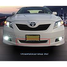 Fedar 2007-2009 Toyota Camry Lower Bumper Billet Grille Grille 1-pc Set-Black