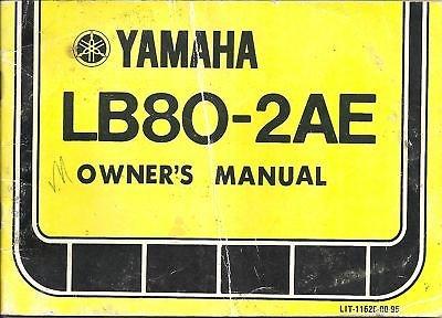 (1978 YAMAHA MINI BIKE LB80-2AE SERVICE MANUAL)
