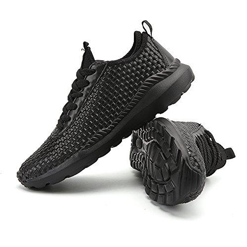 De Chaussures Shopping Loisir Go Noir Jusqu'à Chaussures Course Extérieure Dentelle Baskets Cricket De Talon De Hommes Sport Plat Facile 6c7XggPwq