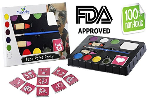 Avanchy Face Painting Paint Kit product image
