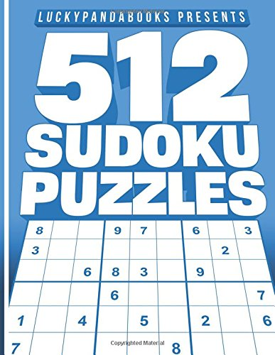 512 SUDOKU Puzzles: Easy, Medium, Hard and Extreme  Sudoku P