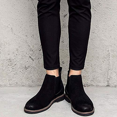 Stivali Da Da Pelle Calzature Invernali Black Shoes Stivaletti Chelsea Holiday Da Lavoro In Uomo Desert Lavoro Da Gift Neve Stivali pzdEREq