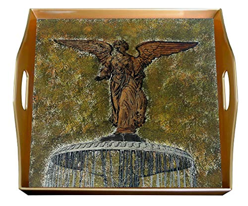 (Square serving tray - Bethseda fountain)