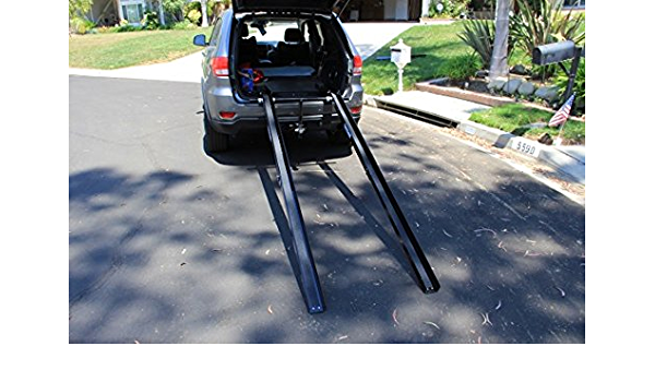 Black Service Ramps Multifunction Step Uphill Mat Factory Loading Ramps Kerb Ramps 11 way bike CSQ-Ramps Heavy Curb Ramps Size : 48.532.513.5CM