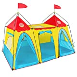 Best Choice Products Kid's Play Tent Big Girl Indoor Outdoor Fantasy Palace Castle Easy Set Up House