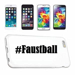 Handyhülle Samsung S6 Galaxy Hashtag ... #Faustball ... im Social Network...