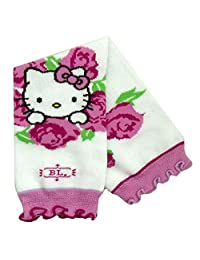 Hello Kitty Baby-Girls Infant Rosy Leg Warmers, White, One Size