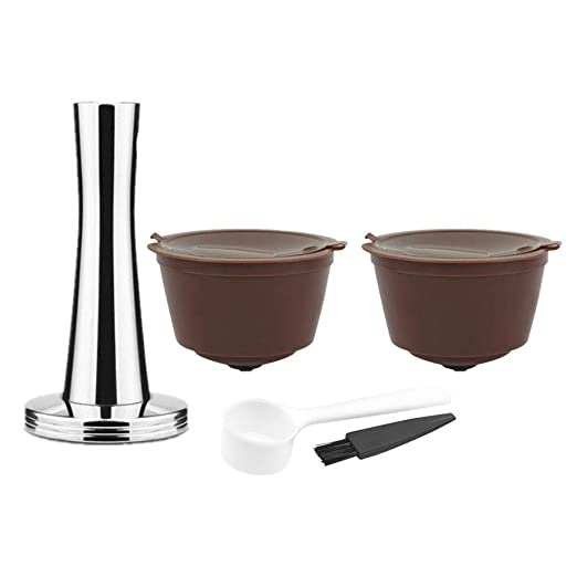 FOONEE Cápsulas de café, rellenables, Reutilizables, para ...