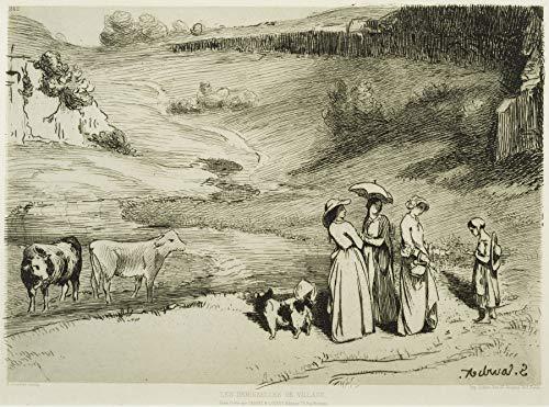 Gustave Courbet Les Demoiselles de Village The Phillips Collection 30