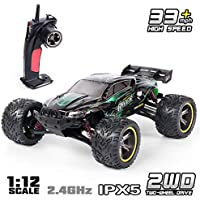 GP Toys 33MPH 2.4GHz 2WD Off Road Water-Resistant Monster Remote Control Car