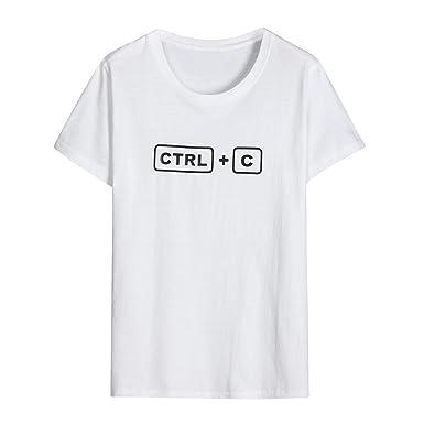 7db0511c69eb2 Dafanet LOVE CTRL V 親子お揃い服 Tシャツ ブラウス 半袖 女の子 男の子 レディース 家族