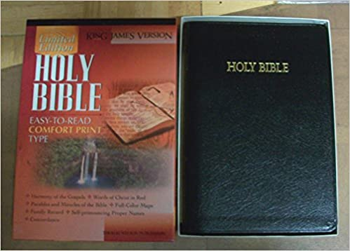 King James Holy Bible: Limited Edition