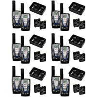 NEW! 6 PAIR COBRA CXR825 30 Mile 22 Channel FRS/GMRS Walkie Talkie 2-Way Radios