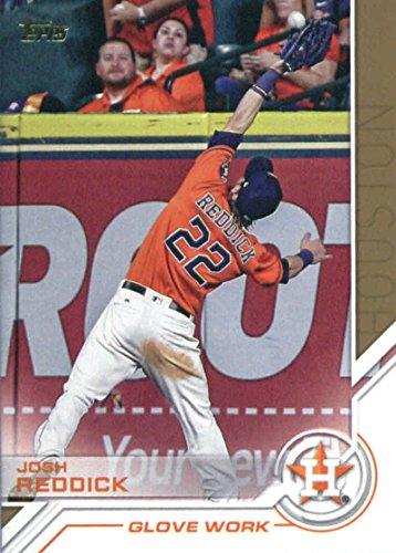 2017 Topps Update Salute #USS-32 Josh Reddick Houston Astros Baseball Card